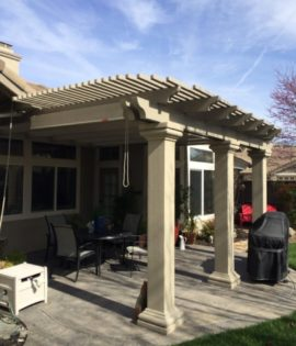 patio cover Sacramento installation