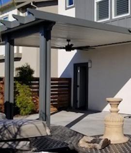 patio cover installation Sacramento